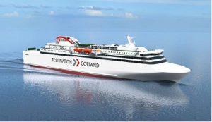 RoPax ferry of Rederi AB Gotland