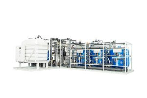 Fresh water generation systems