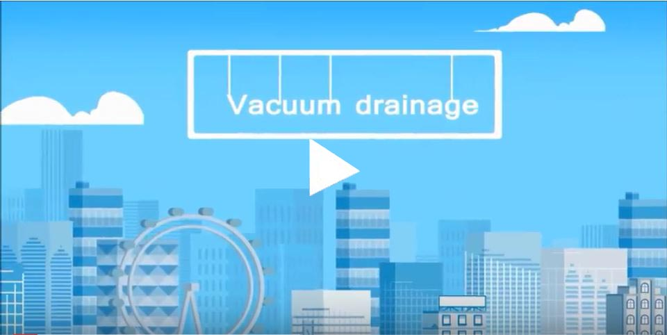 Evac vacuum drainage solutions, video