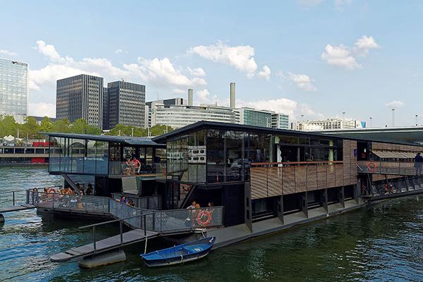 OFF Paris Seine floating hotel in Paris, France
