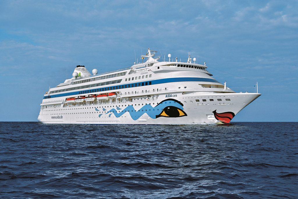 AIDAcara cruise vessel