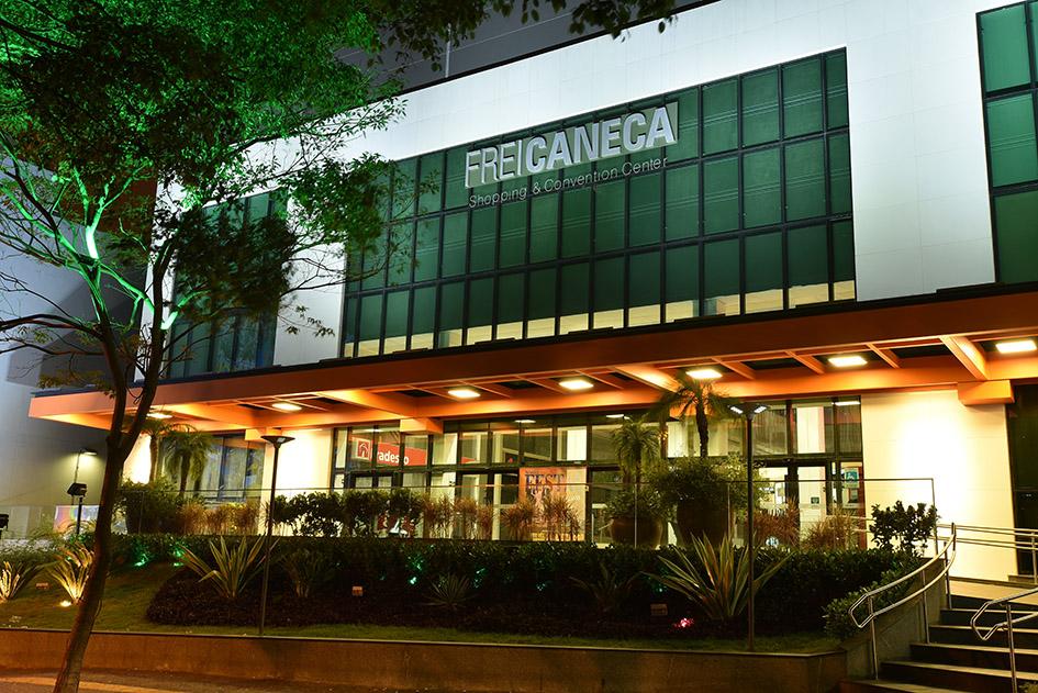 Frei Caneca shopping mall in São Paulo