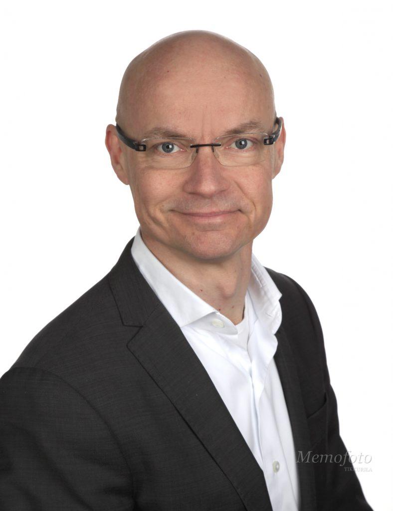 Tuomo Valkonen, CFO, Evac Group
